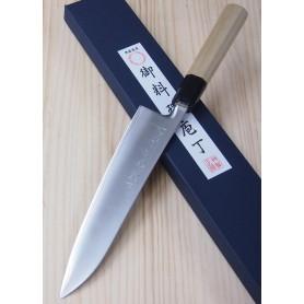Faca japonesa do chef gyuto MIURA -Série Powder steel standard- Tam:21cm