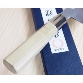 Faca japonesa do chef gyuto MIURA -Série Carbon white 2 - Tam:21cm