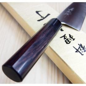 Faca japonesa santoku YOSHIHIRO Super blue steel tam:16,5cm