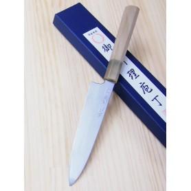 Faca japonesa petty MIURA -Série Carbon white 2 - Tam:15cm