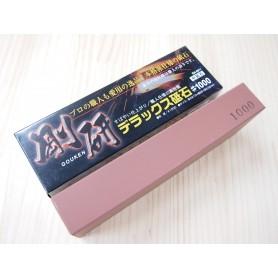 Pedra para amolar granulatura 1.000 - NANIWA - Série Gouken