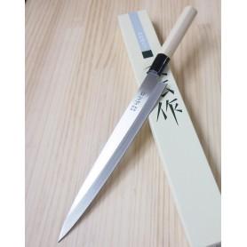 Faca japonesa yanagiba para canhoto MASAHIRO série inox Tam:21/24cm