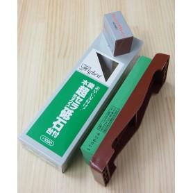 Pedra para afiar NANIWA CHOSERA 1000 com base plástica e pedra de ajuste 600 - Fabricado para o mercado japonês