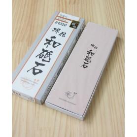 Pedra para afiar especial para aço inox 1000 NANIWA Série Sakaiden watoishi