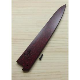 三昧ZANMAI 鞘 筋引用 24cm/27cm 赤