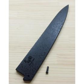 Bainha - Saya de madeira para faca sujihiki / slicer24/27cm ZANMAI - black