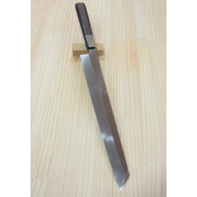 Faca japonesa kengata yanagiba SUISIN Honyaki blue steel 2 - tam:30cm