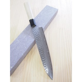 Faca japonesa do chef - SAKAI TAKAYUKI - Série Wagyuto Damascus 45 camadas -Inox Warikomi - Tam: 21 / 24cm