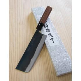 Faca nakiri YAMAMOTO HAMONO Blue steel tam:17cm