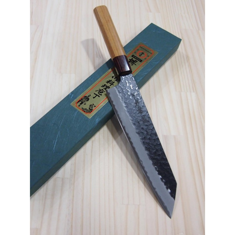 Faca do chef kengata SAKAI TAKAYUKI Aogami super - Tam:19cm