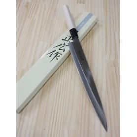 Faca japonesa yanagiba MASAHIRO série MS-8 inox Tam:27cm