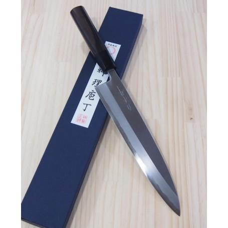 白木作SHIRAKI 青一鋼 片刃牛刀 24cm