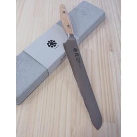 Faca para pão - YAXELL - Série YO-U Bianco - Aço VG10 - Tam:23cm