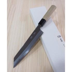 Faca japonesa Kiritsuke gyuto SAKAI KIKUMORI Série Choyo white steel Tam:21cm