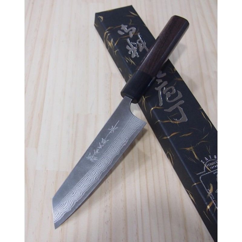 Faca japonesa kobunka YOSHIMI KATO Série VG10 nashiji Tam:13cm