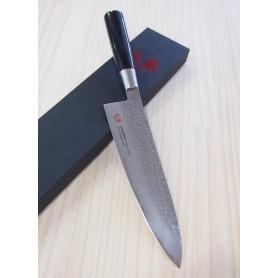 Faca japonesa do chef SUNCRAFT Senzo classic VG-10 damascus Tam:20/24cm