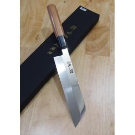 Faca japonesa mukimono - SUISIN - Série Inox honyaki -Acabamento espelhado - Tam:18cm