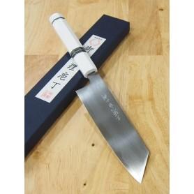Faca japonesa bunka MIURA -Série Carbon white 2 cabo customizado- Tam:18cm