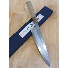 Faca japonesa do chef gyuto para destro MIURA -Série Itadaki - Tam:21/24cm